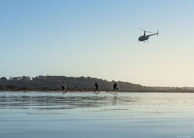 heli-sup-lakes-entrance